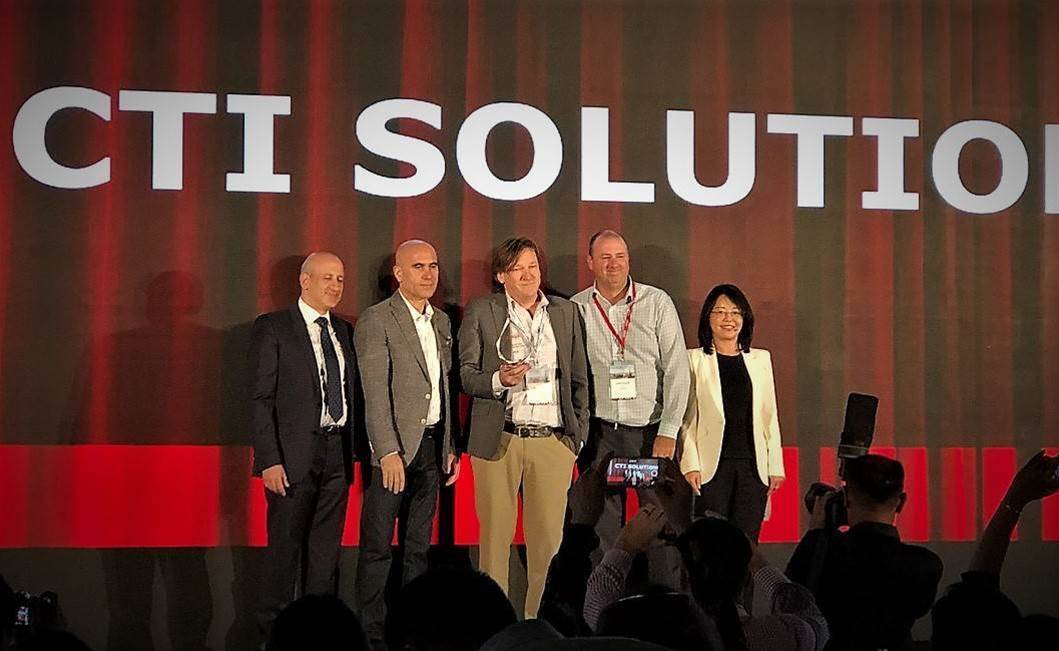 CTI with Polymer Nugget of Cloudy Sales Excellence