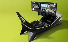 Aston Martin AMR-C01 racing simulator launched