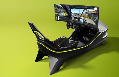 Aston Martin racing simulator: The ultimate business event draw card