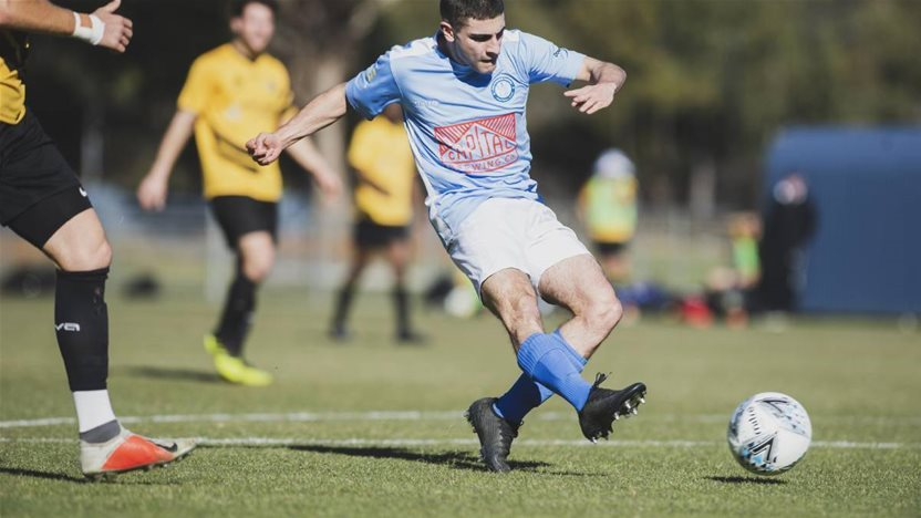 Canberra's Brazil-inspired teenage striker eyes A-League chance