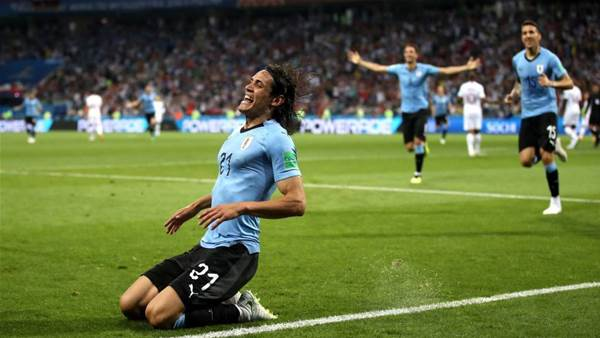 Uruguay beat Portugal after Cavani double