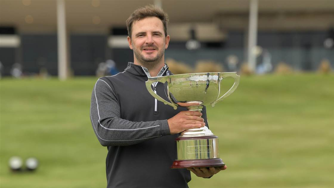 Accidental hero: Wood's clutch finish to claim Vic PGA