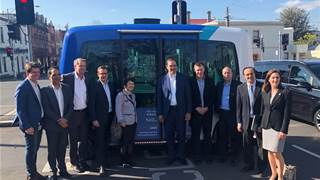 Cisco CEO Chuck Robbins tours Vic IoT road trial