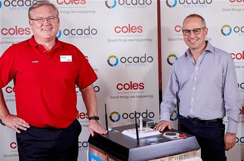 Coles taps Ocado for online grocery shopping overhaul