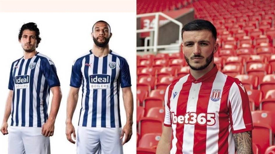 Stoke City and West Bromwich Albion join in on 2019/20 jersey announcements