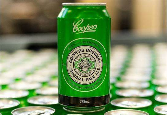 Coopers Brewery taps frothy data to perfect flagship pale ale