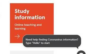 Sydney Uni spins up 'Corona-Bot' to handle influx of queries