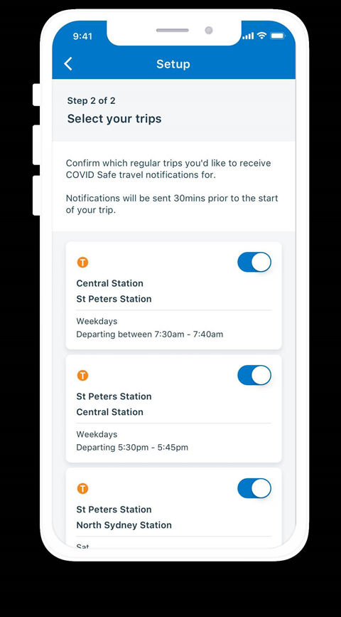 NSW brings personalised real-time occupancy alerts to Opal Travel app