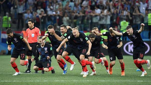 Croatia beat Denmark in penalty shootout to set up Russia Quarter-Final