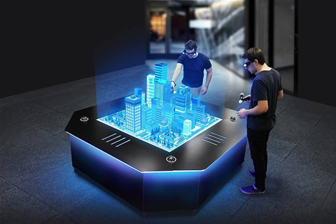 Curtin Uni adds an interactive hologram table