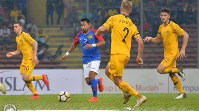 Olyroos X-factor strikers impress Malaysia's Maloney