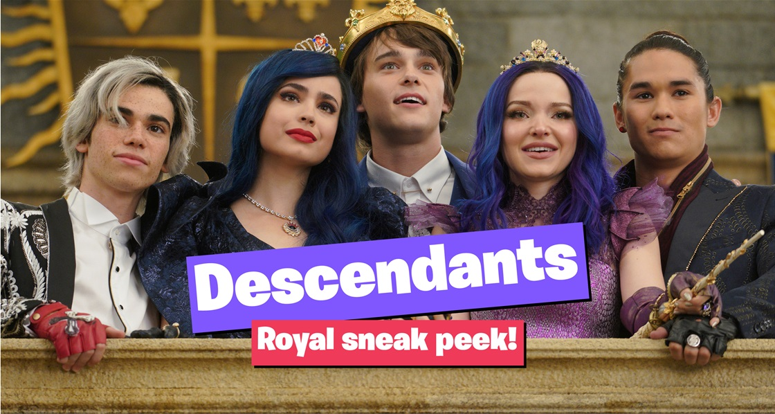 Sneak peek   The Descendants Royal Wedding premieres on Disney+!