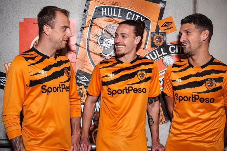 Hull City hungry for promotion with 90s inspired kit release