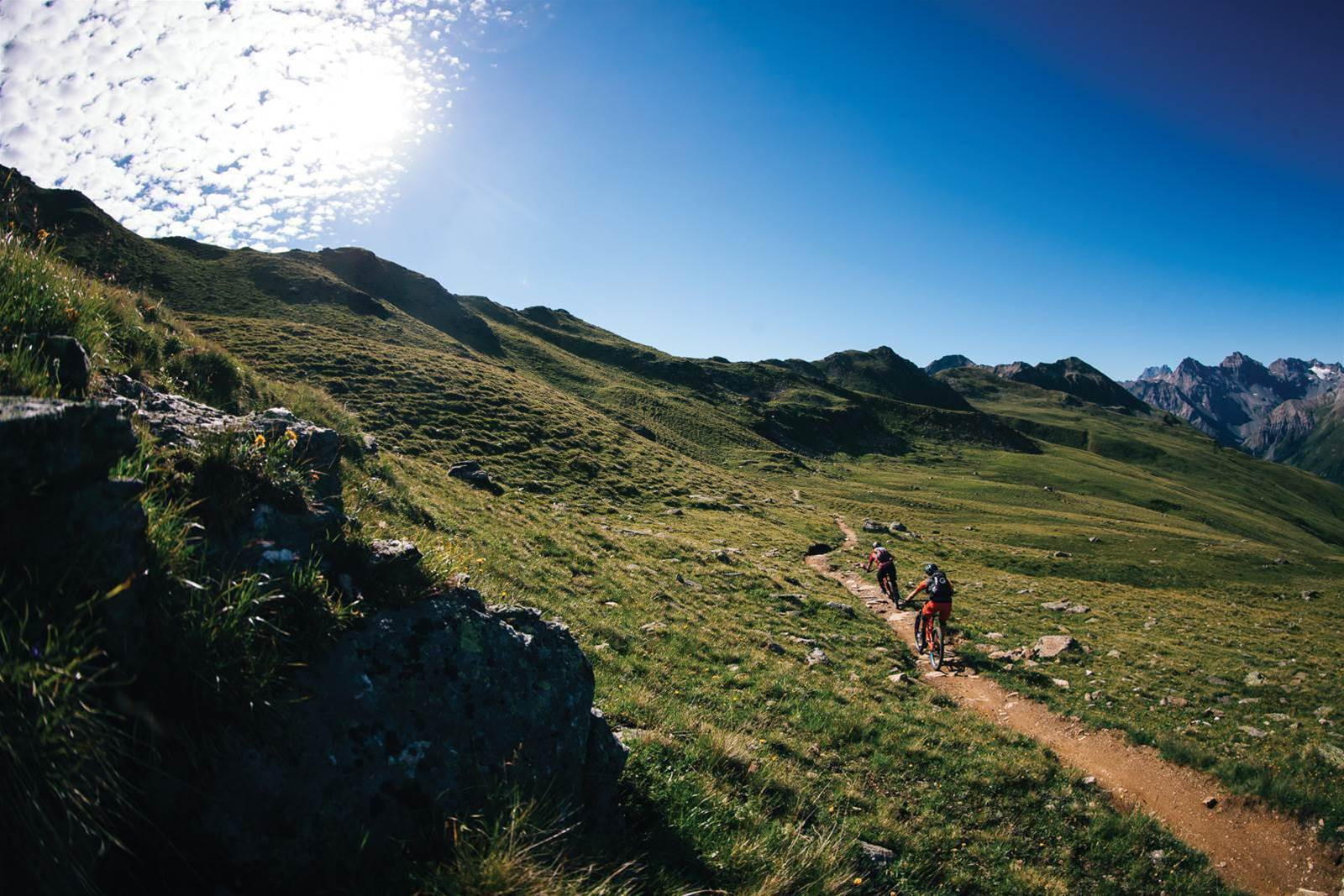Endless Trails - Steffi Marth and Richie Schley on a Swiss adventure
