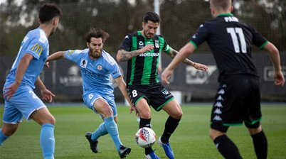 Western United defeat City in behind-closed-doors friendly