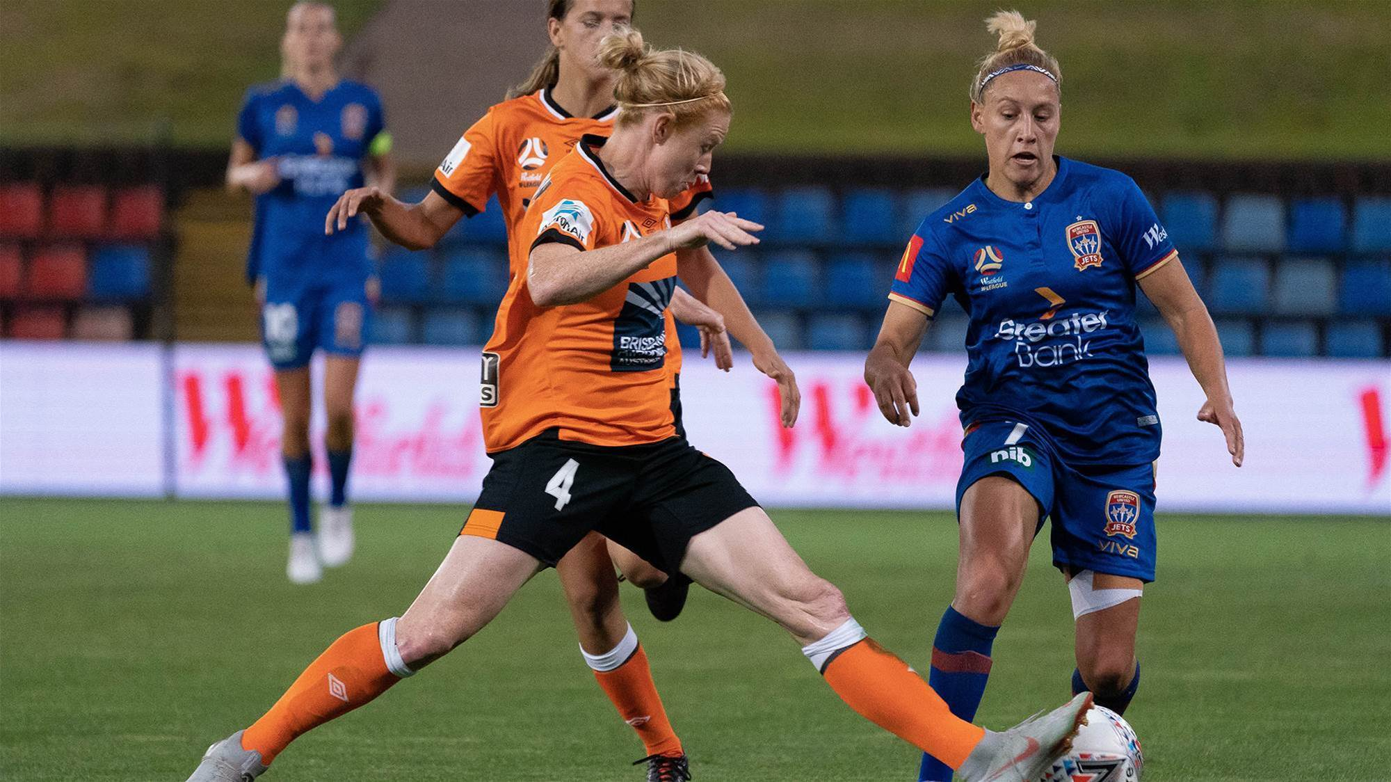 Roar end their Jet drought