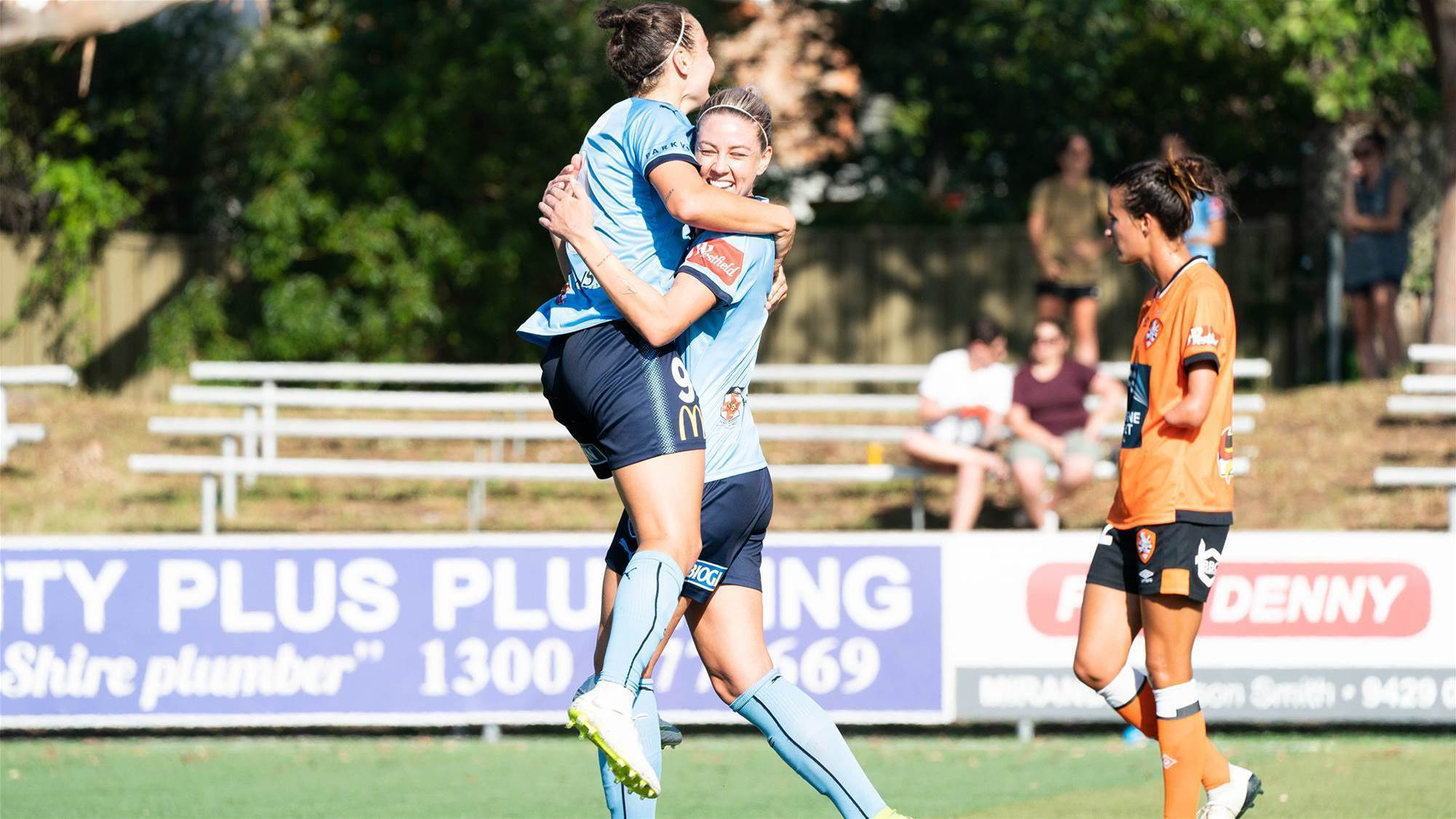 Foord hat trick leads Sky Blues to victory