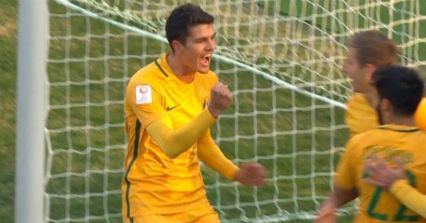 Blackwood brace boosts Australia U23s