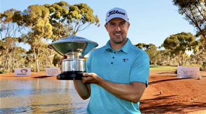 WA PGA champion Beck breaks 11-year title drought
