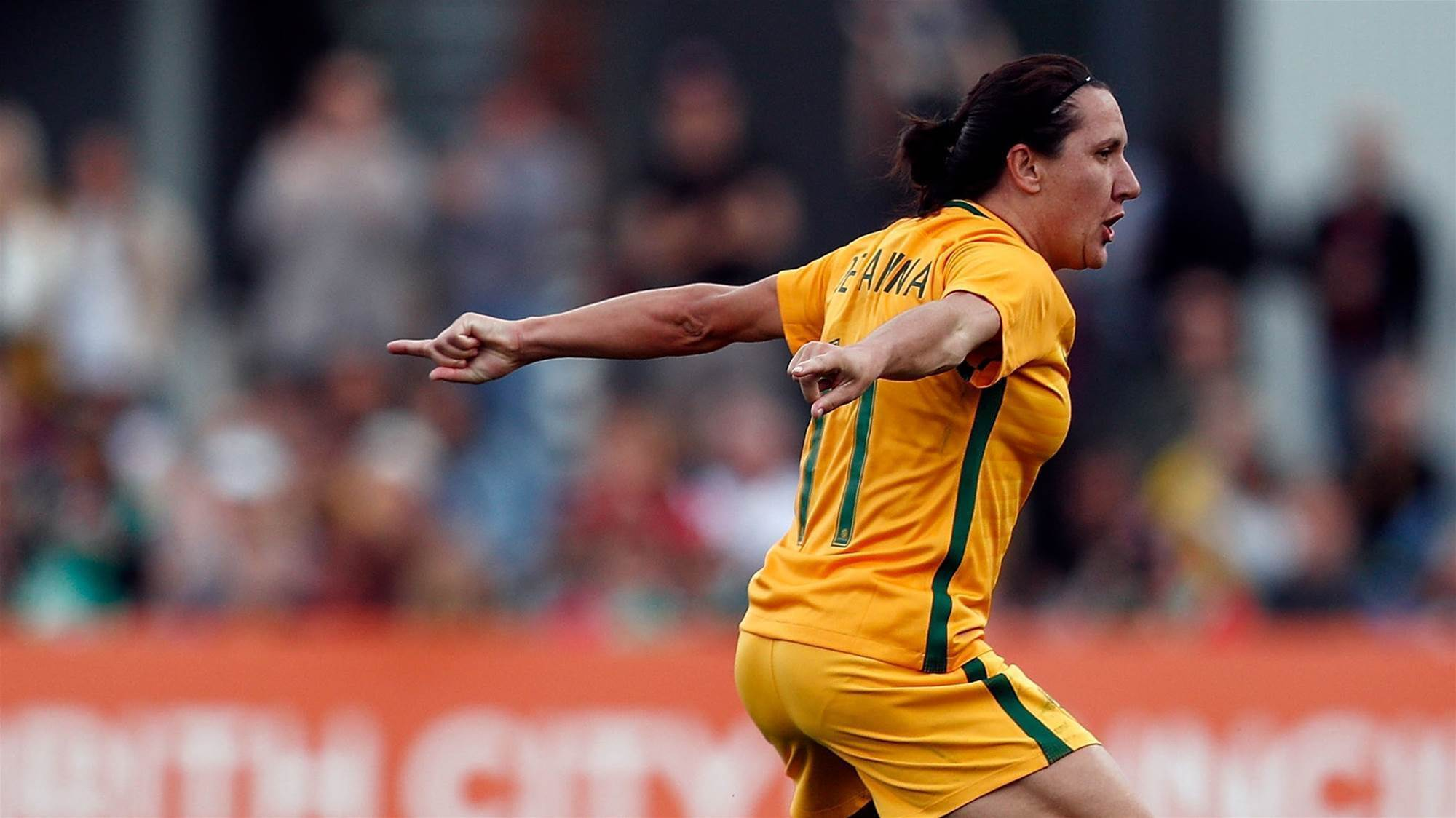 De Vanna: Matildas aiming to be number one