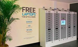 UNSW laptop lending machine vends students $1800 Dells free for four hours