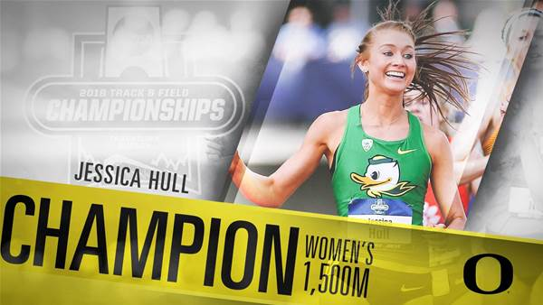 Hull becomes a NCAA National Champion