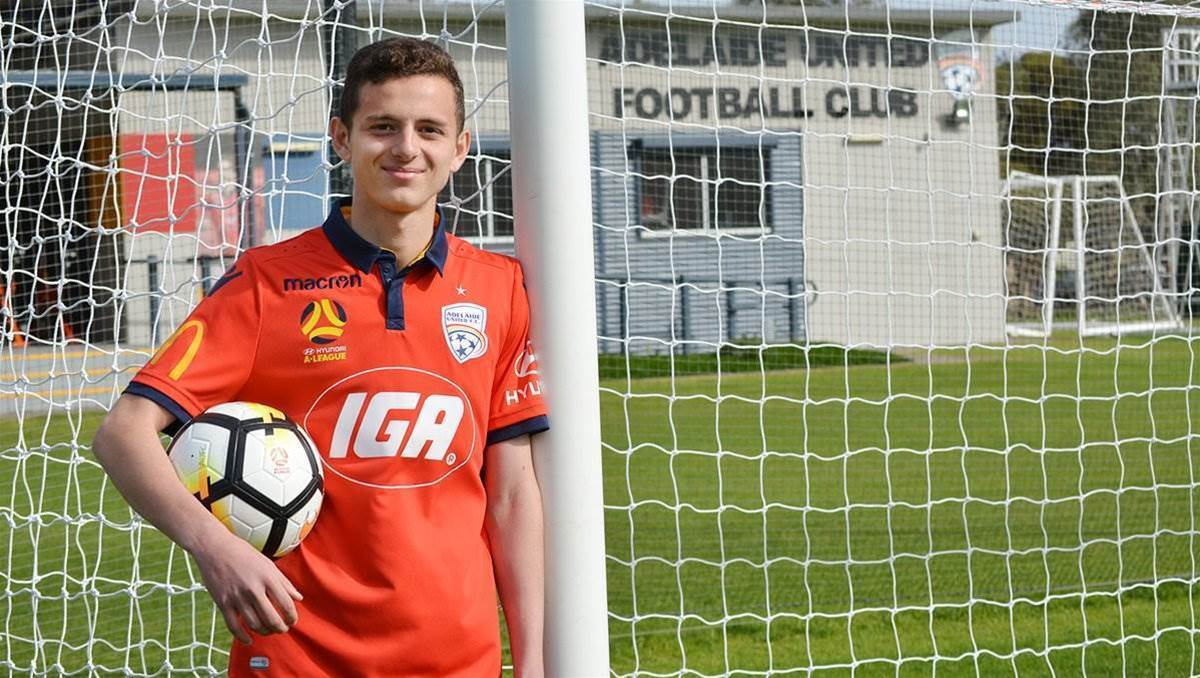 Adelaide United signs exciting teenager