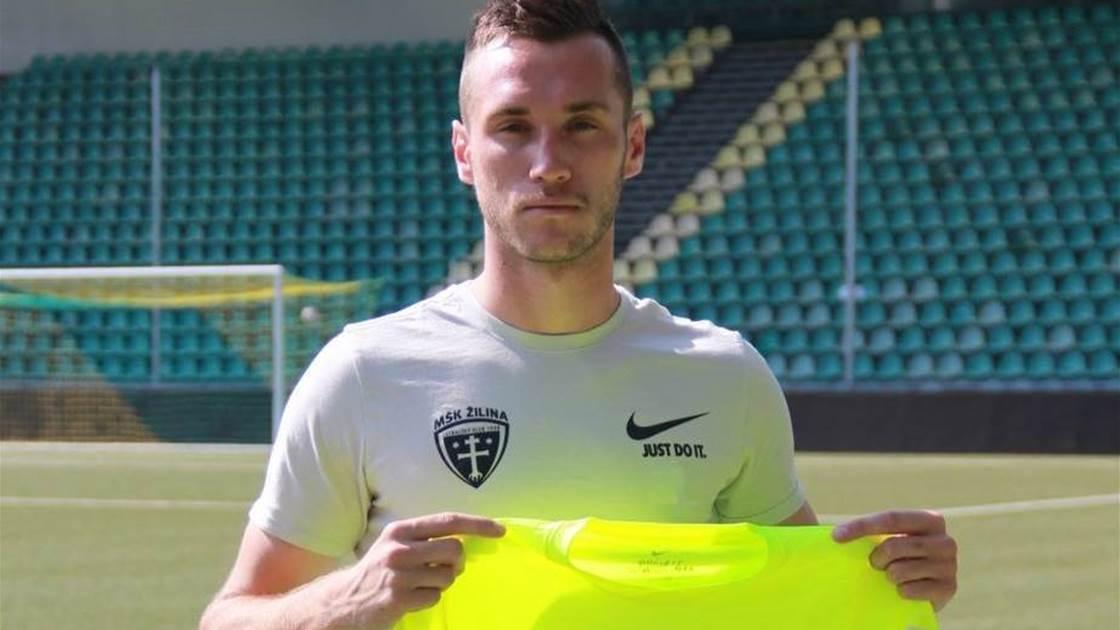 Aleksandar Susnjar joins Slovakian club on loan