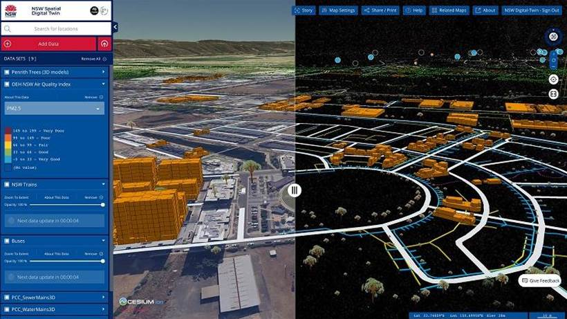 NSW Government launches NSW Spatial Digital Twin