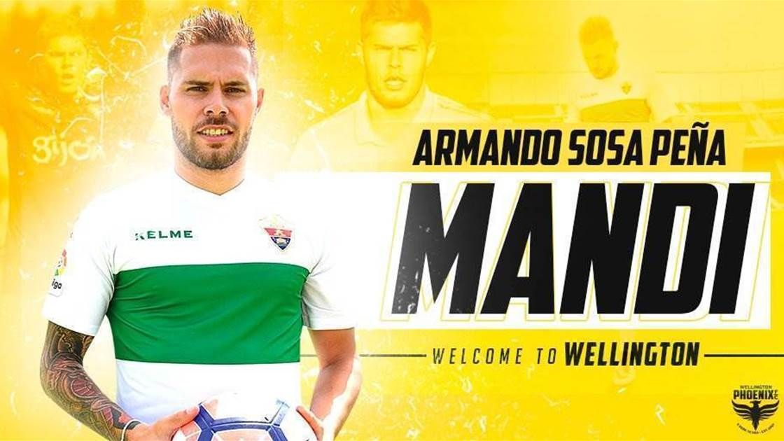 Wellington Phoenix land Spanish midfielder