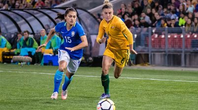 Chloe Logarzo: We're potential finalists for the World Cup