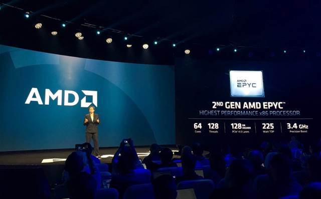 AMD launches EPYC threat against Intel with 64-Core CPUs