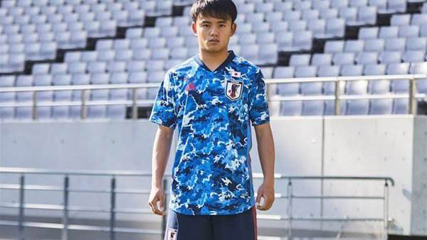 Japan release striking new kit for Olympics