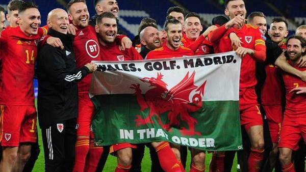 'Wales. Golf. Madrid. In that order': Bale celebrates Euro 2020 qualification