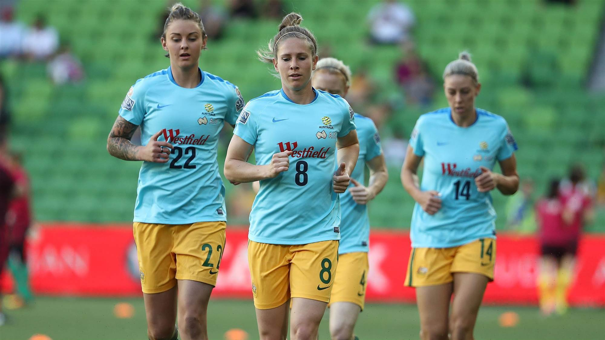 Matildas after Asian Cup mental edge