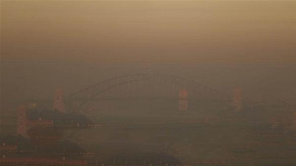 Sky Blues not by affected by smoky Sydney