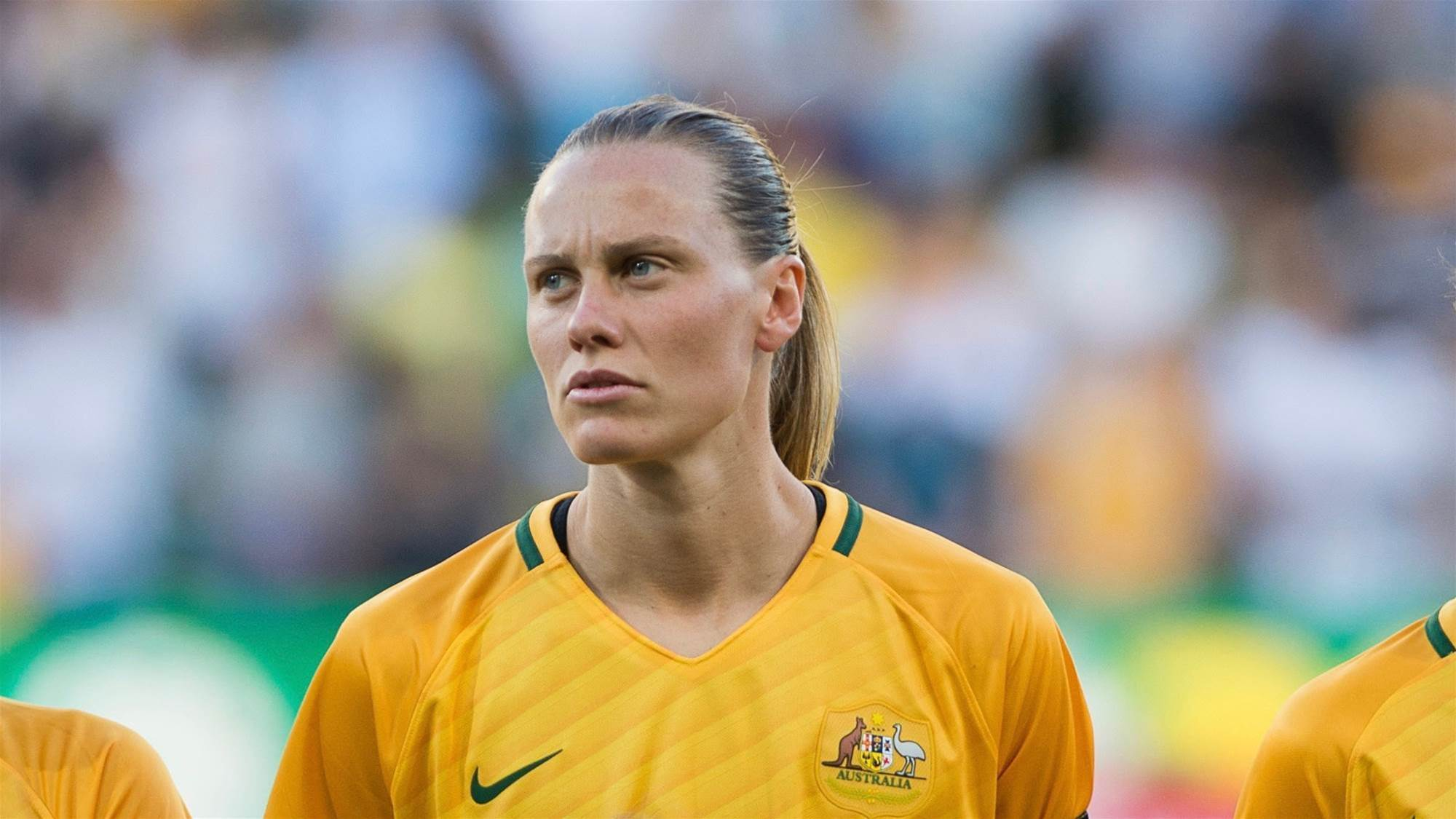Van Egmond: Matildas out to make a statement