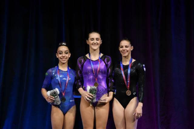 Alexandra Eade wins Gold