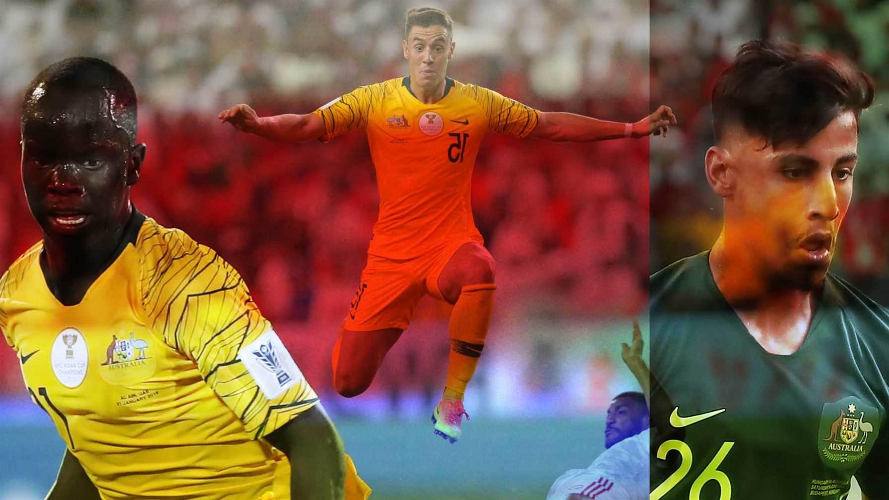 'Scary' strikers Socceroos' X-factor