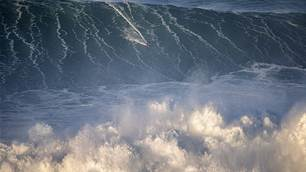 Was A 100-Foot Wave Ridden Yesterday At Nazare?