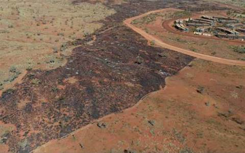Fortescue manages bushfire threat from space