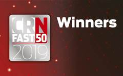 Who won the three new CRN Fast50 award categories?