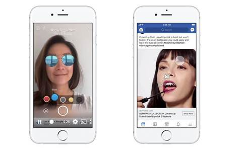 Facebook advertising tricks: augmented reality ads