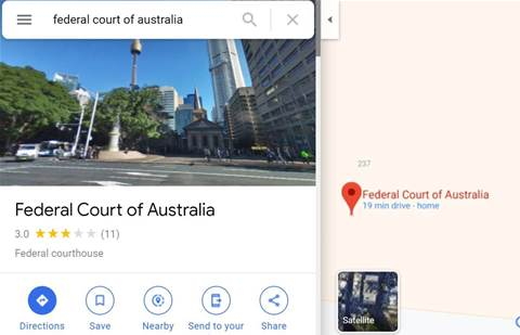 ACCC hauls Google to court over data handling