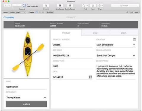 FileMaker 17 adds new features and starter apps