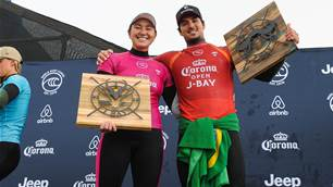 Moore and Medina Thrive at Classic JBay