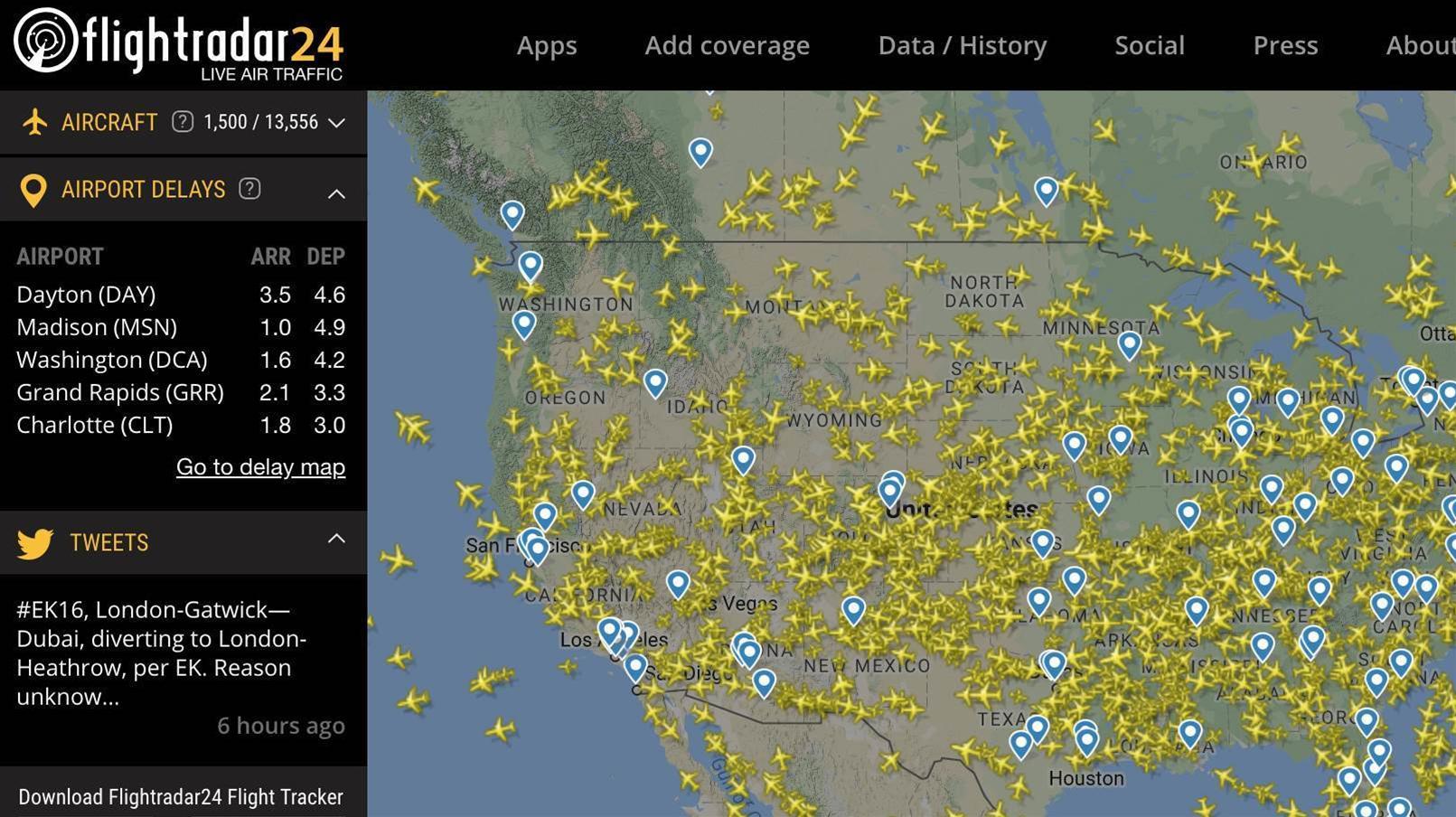 Flightradar24 suffers security breach