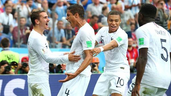 France through to the semi-finals after beating Uruguay