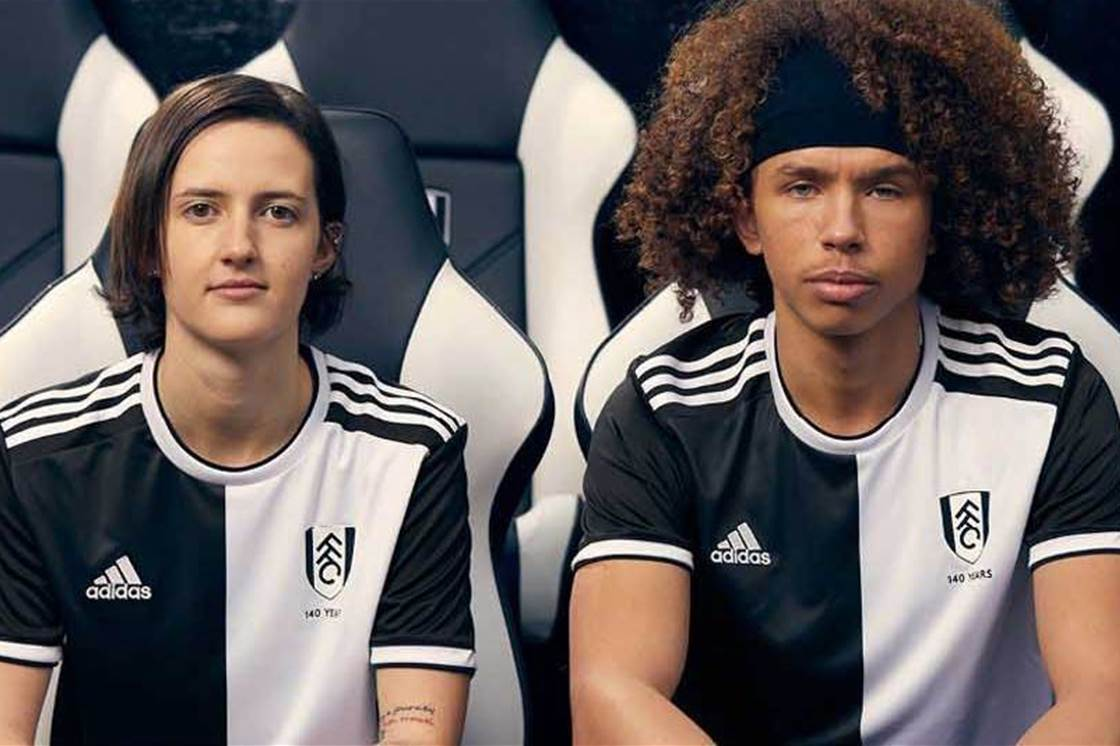 Fulham celebrate 140 years with limited-edition vintage kit