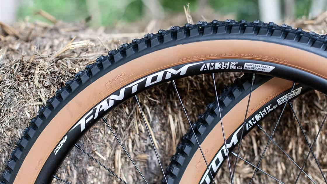 FIRST LOOK: Funn Fantom AM35 MTB wheels